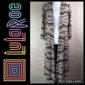 LuLaRoe Sarah Duster Open Cardigan Sweater